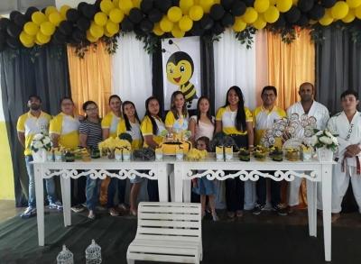 Programa Mais Educação da Escola Virtuosa, festinha de comemoração ao dia das crianças