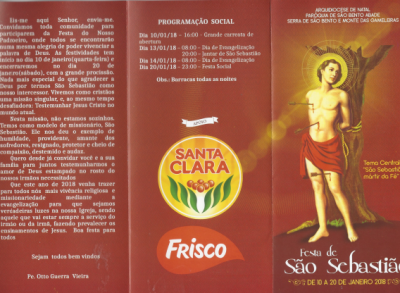 Festa de São Sebastião 2018