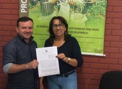Assinatura de adesão ao termo do Garantia Safra 2017/2018