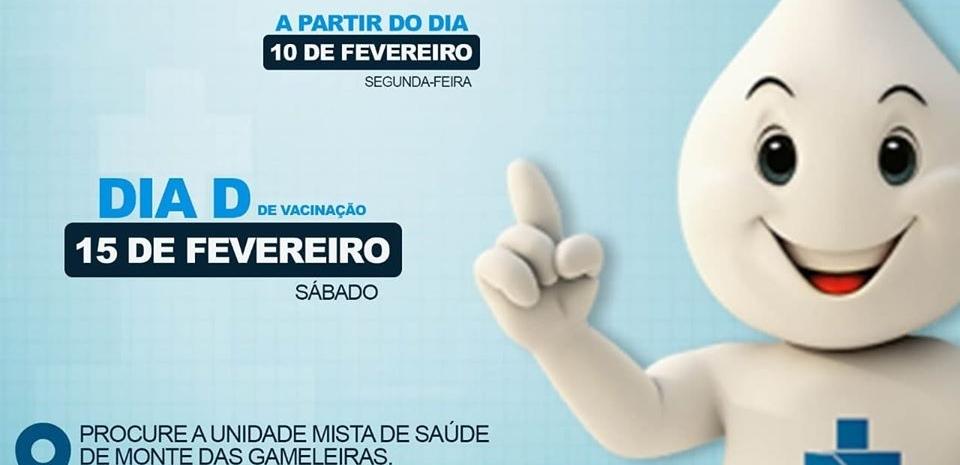 Secretaria de Saúde realiza 1ª Etapa da campanha de Vacinação contra o Sarampo 2020.