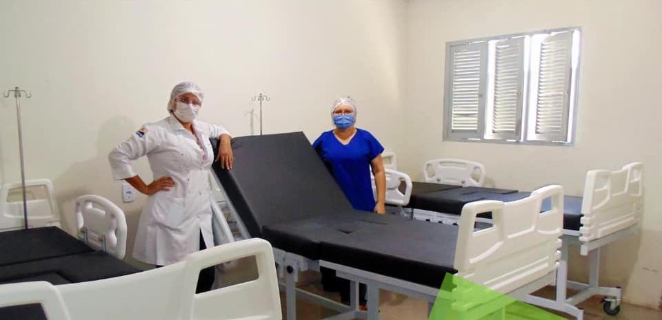 Prefeitura faz aquisição de modernas camas hospitalares.