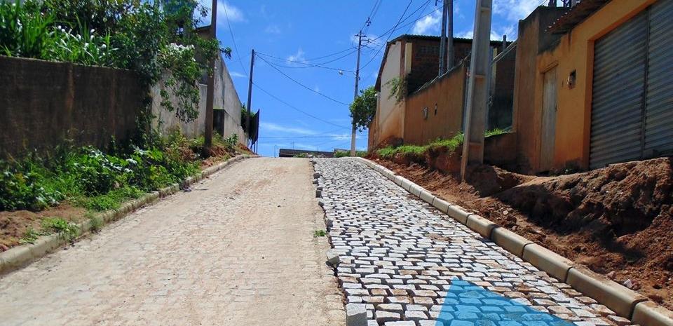Prefeitura segue com várias pavimentações em nossa cidade.