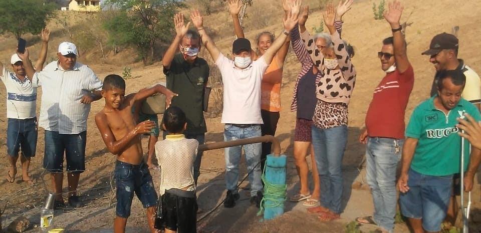 Manutenção e reativação em poço artesiano no Sítio Serra do Bico